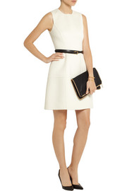 Michael Kors Wool and angora-blend dress