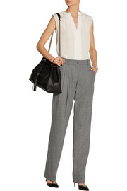 Michael Kors Stretch-wool straight-leg pants