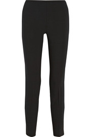 Michael Kors Stretch-wool crepe skinny pants