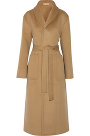 Michael Kors Wool, angora and cashgora-blend coat