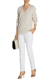 Michael Kors Samantha stretch-cotton skinny pants