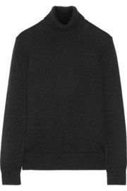 Michael Kors Cashmere and cotton-blend turtleneck sweater