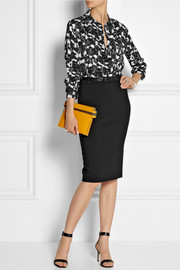 Michael Kors Stretch-wool pencil skirt
