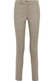 Michael Kors Samantha houndstooth stretch-wool skinny pants