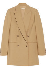 Michael Kors Double-breasted wool-blend blazer