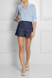 Michael Kors Silk-georgette shirt