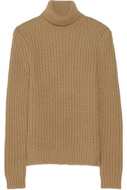 Michael Kors Alpaca and silk-blend turtleneck sweater