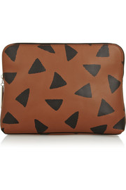 3.1 Phillip Lim 31 Minute printed leather clutch