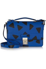 3.1 Phillip Lim The Pashli Mini Messenger printed leather shoulder bag