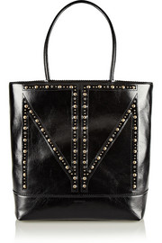 Tamara Mellon TM Love studded leather tote