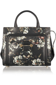 Jason Wu Daphne floral-print leather tote