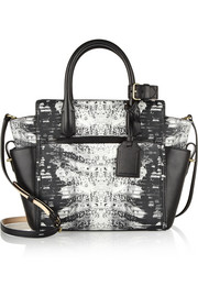 Reed Krakoff Atlantique mini printed leather tote