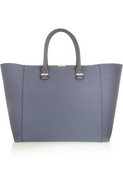 Victoria Beckham Liberty textured-leather tote