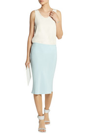Joseph Matte-silk pencil skirt