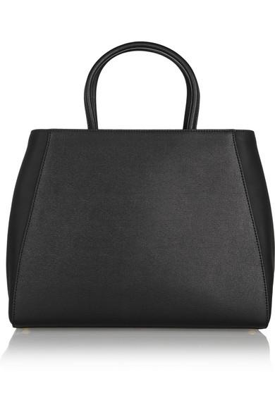 newest 08628 89c90 Fendi | 2Jours medium textured-leather tote | NET-A-PORTER.COM