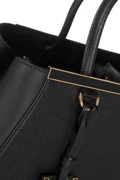 684a4e4fe0a0 Fendi. 2Jours medium textured-leather tote.  2