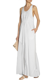 3.1 Phillip Lim Cotton-poplin and silk maxi dress