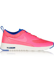 Air Max Thea Premium coated-mesh and leather sneakers