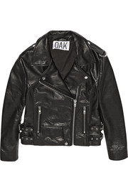 OAK Rider leather biker jacket