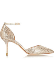 Lucy Choi London Primrose Hill glitter-finished pumps