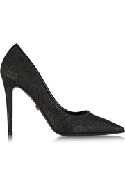 Diane von Furstenberg Bethany lizard-effect leather pumps