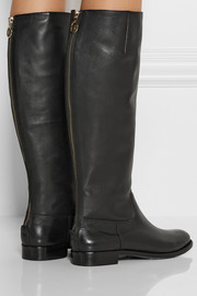 Diane von Furstenberg Ranger leather knee boots