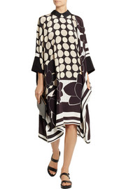 Issa Maya printed silk dress