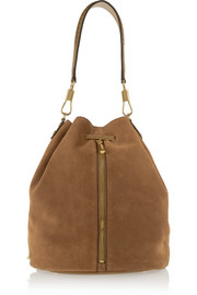 Elizabeth and James Cynnie Sling suede backpack