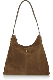 Elizabeth and James Pyramid suede shoulder bag