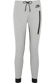 Nike Tech Fleece cotton-blend jersey track pants