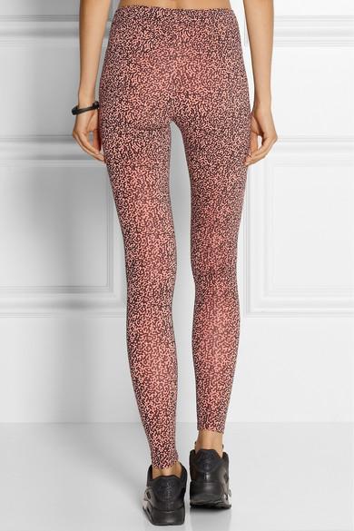 nike leopard print tights