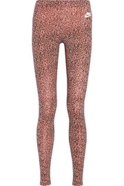 Leg-A-See leopard-print stretch-jersey leggings