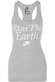 Nike Run The Earth cotton-jersey tank