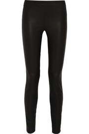 J.Crew Collection stretch-leather skinny pants