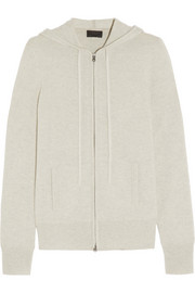 Collection cashmere hooded top