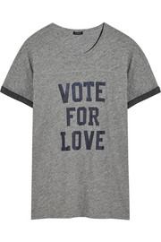 J.Crew Vote For Love cotton-jersey T-shirt