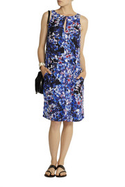 J.Crew Collection Blackwell floral-print silk dress