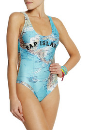 Filles à Papa Bermudes printed swimsuit