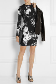 Preen by Thornton Bregazzi Iris printed stretch-jersey mini dress