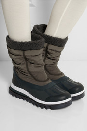 Adidas by Stella McCartney Weekender Hiker shell and rubber ski boots