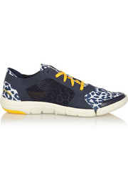 Adidas by Stella McCartney Ararauna Dance leopard-print stretch-jersey sneakers