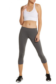 Adidas by Stella McCartney Studio cropped stretch leggings