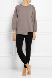 Adidas by Stella McCartney Yoga cotton-jersey sweatshirt