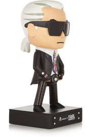 Karl Lagerfeld + tokidoki Mr UK diamanté-embellished figurine