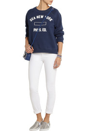 SEA Cotton-blend jersey sweatshirt