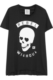 Zoe Karssen Rebel Without cotton and modal-blend T-shirt