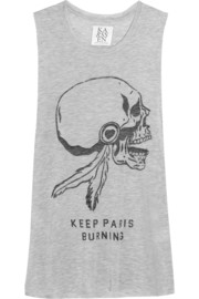Zoe Karssen Keep Paris Burning jersey tank