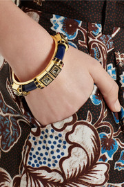 Etro + V&A gold-plated, Swarovski crystal and resin bracelet