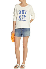 J Brand Carly high-rise denim shorts