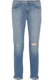 J Brand Jake low-rise slim boyfriend jeans
